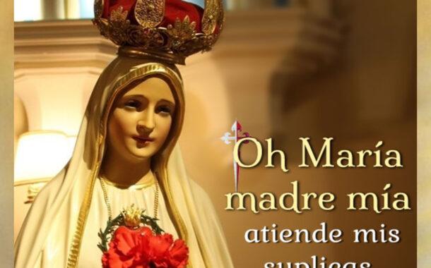 Súplicas a María Santísima