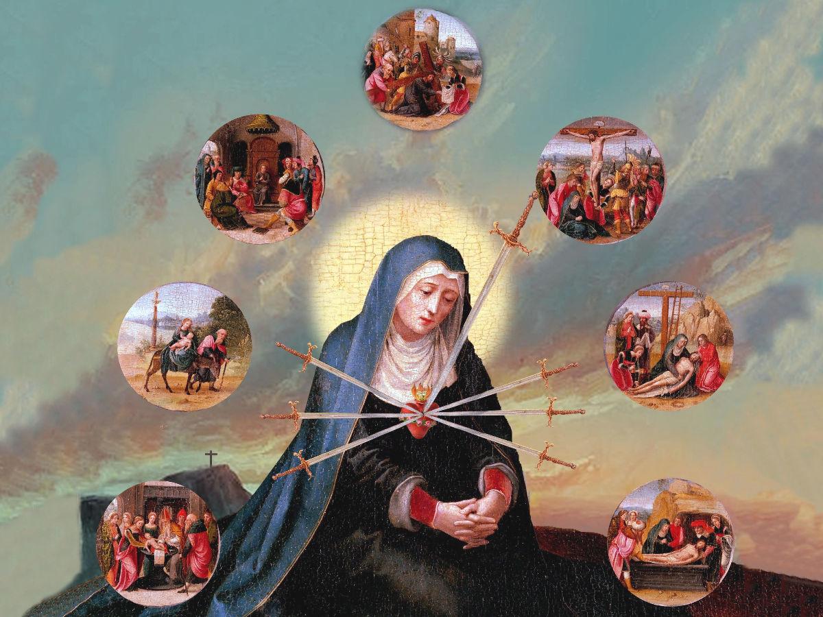 Rosario de los 7 dolores de la Virgen María